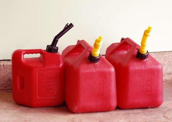Storing gasoline