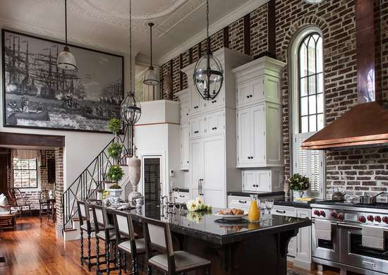 Dark Exposed Brick