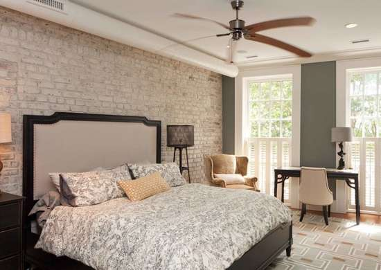 White Exposed Brick