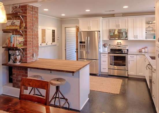 Exposed Brick Divider