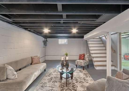 Basement Ceiling Ideas 11 Stylish