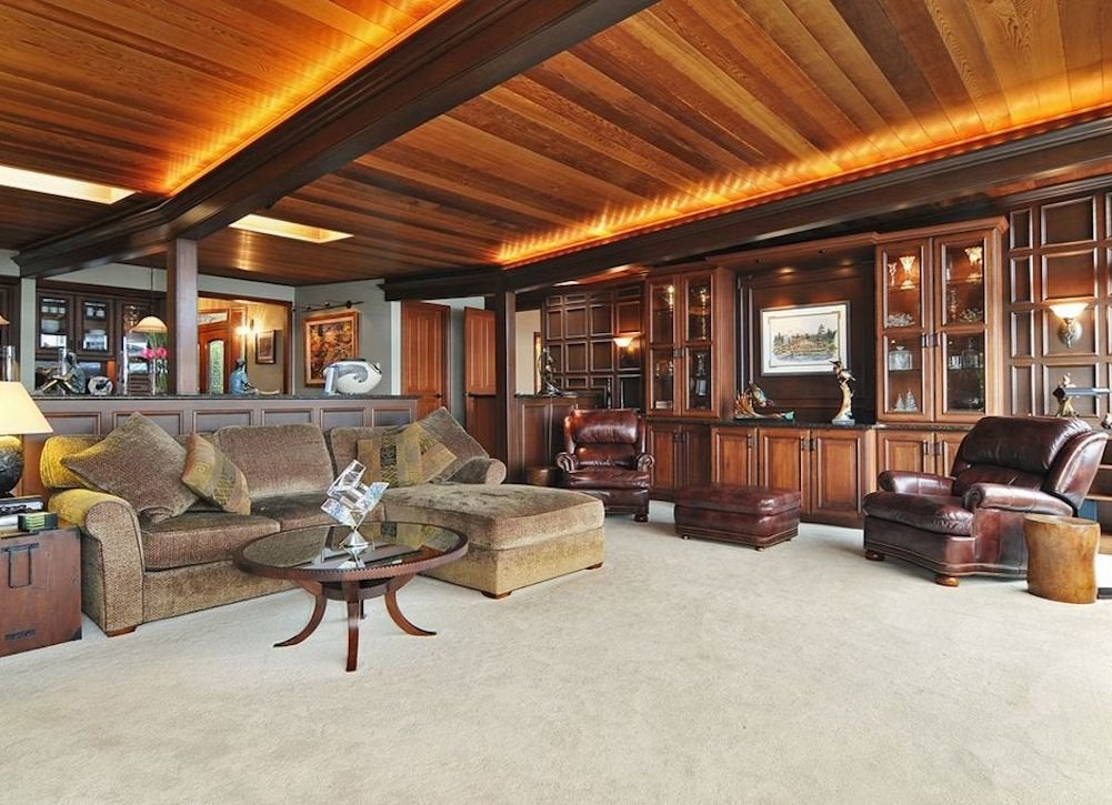 wooden plank basement ceiling - Innovative Wood Beam Ceiling