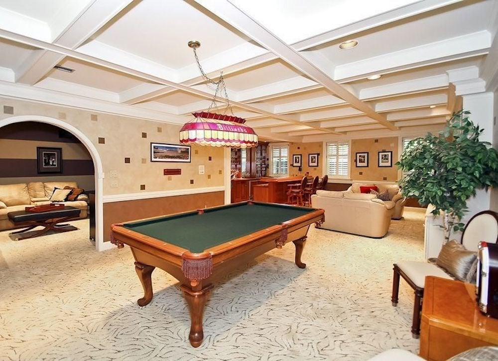 Basement ceiling ideas 11 stylish options bob vila traditional box ceiling greentooth Choice Image