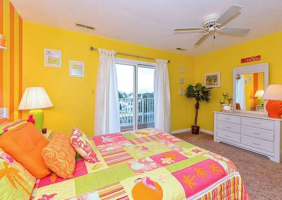 Yellow Paint in Bedroom