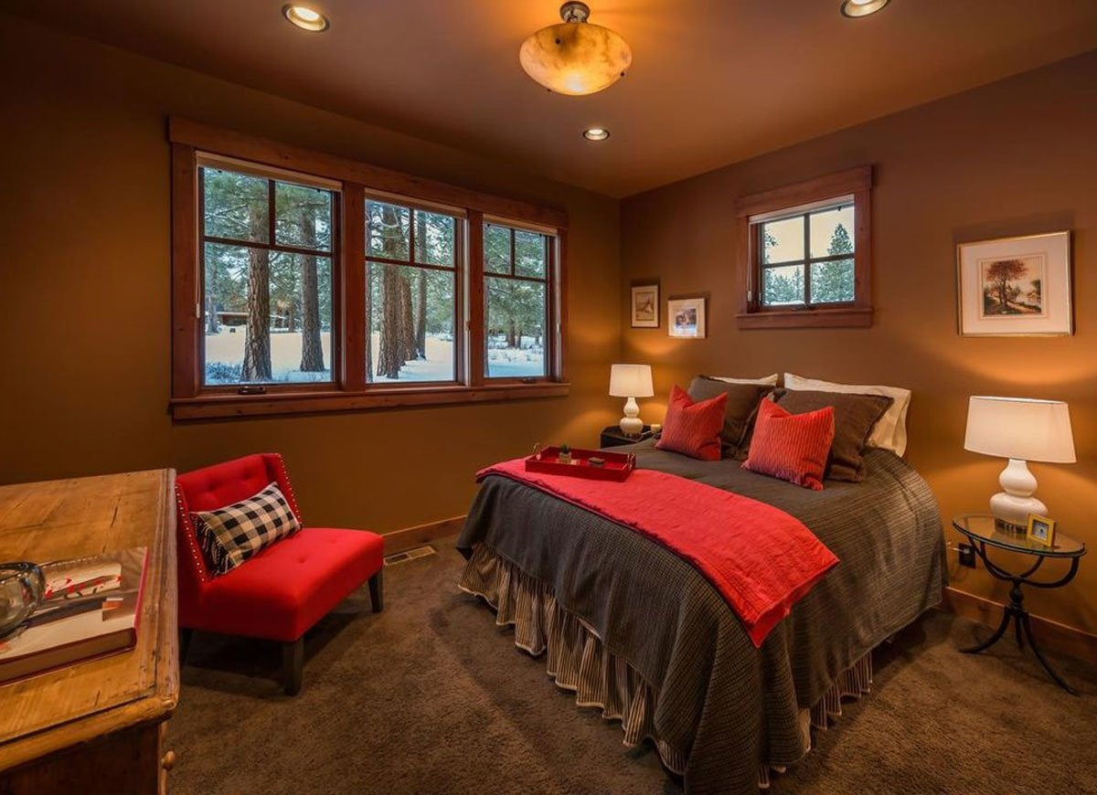 Exterior house paint colors 7 no fail ideas bob vila - Chocolate Brown And Mink Are Becoming Trendy Colors For Home Interiors But Their Heaviness Leaves A Bedroom Looking Gloomy And Confined