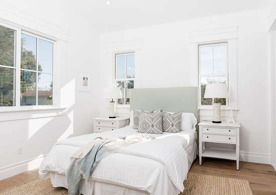 White Paint in Bedroom