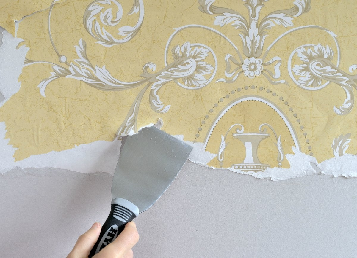 3 inch putty knife removing wallpaper