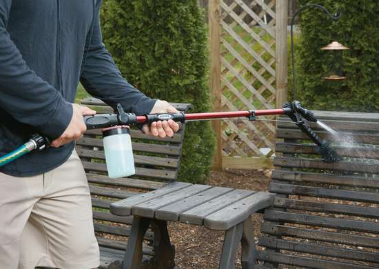 PivotPro™ Outdoor Cleaning Water Wand