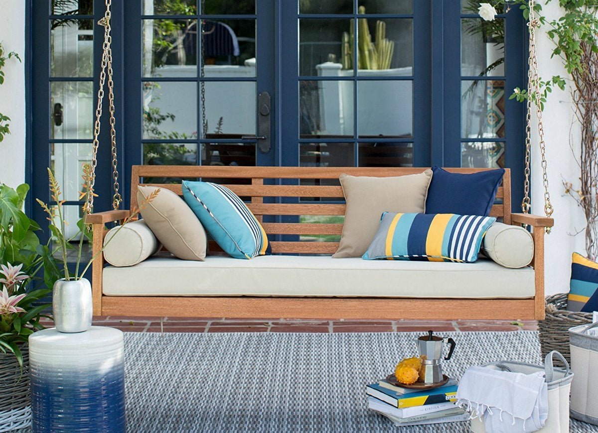 10 Genius Ways to Make Your Backyard a Blast - Bob Vila on Belham Living Brighton Outdoor Daybed id=23901