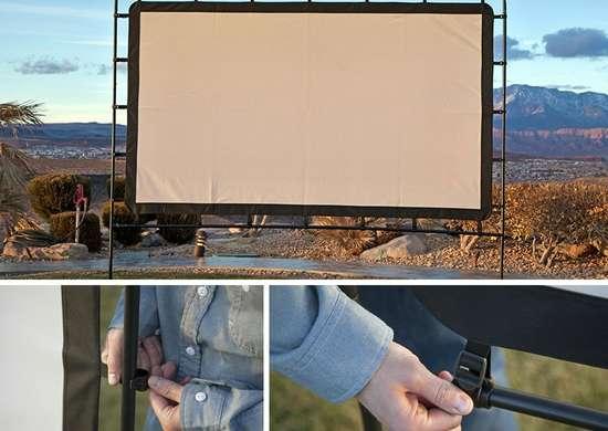 Portable Outdoor Movie Screen