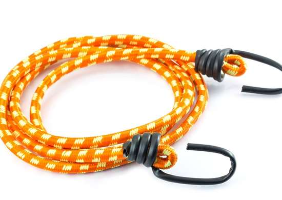 Bundle Items with Bungee Cord