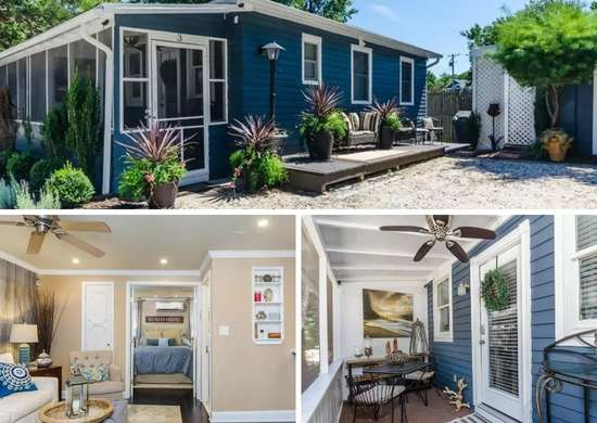 Beach Bungalow in Rehoboth Beach, Delaware