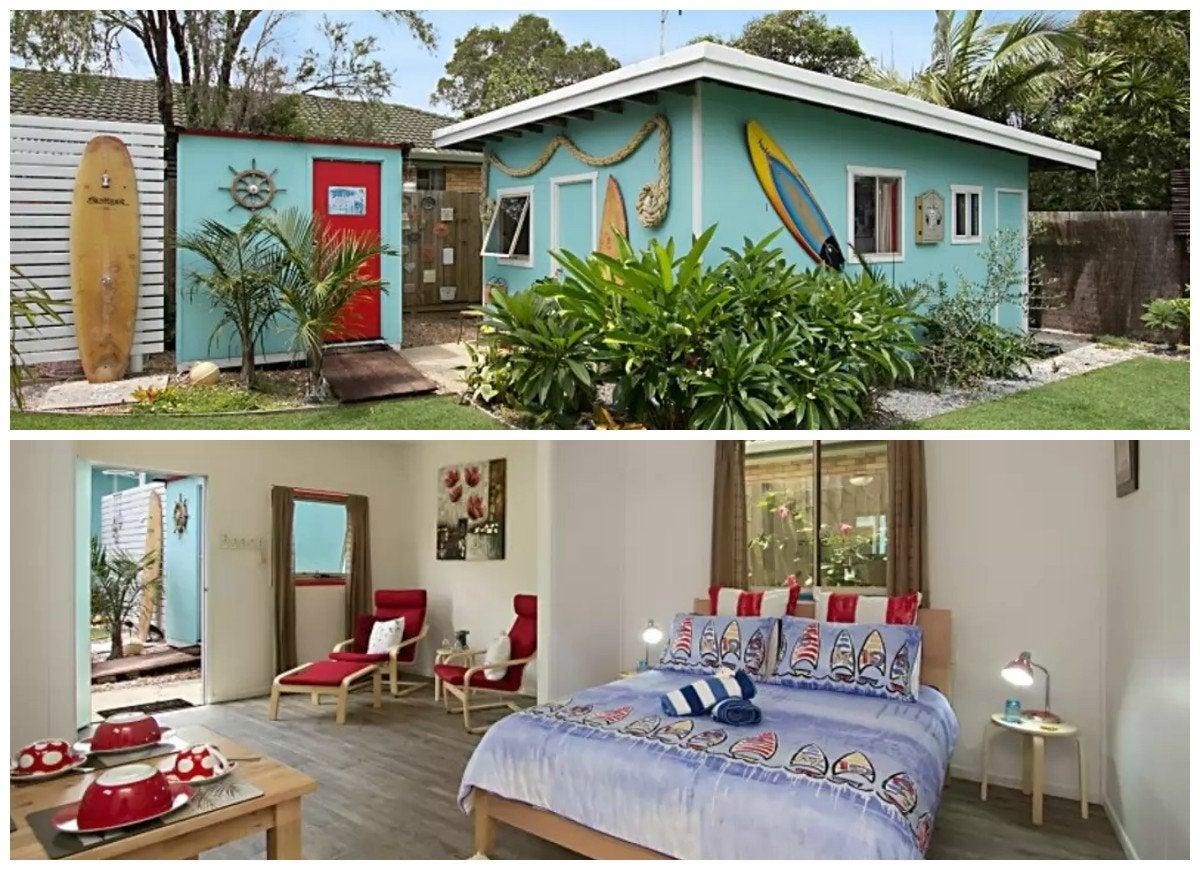 beach bungalow in kingscliff  new south wales  australia