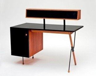 Lacma california design exhibit walnut formica iron desk greta magnusson grossman bob vila20111123 36322 1cn5p88 0
