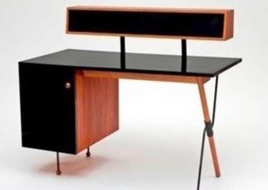 Lacma california design exhibit walnut formica iron desk greta magnusson grossman bob vila20111123 36322 1cn5p88 0