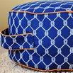 DIY Fabric Ottoman