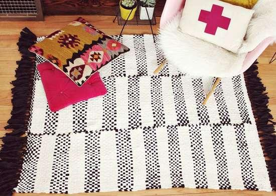 DIY Woven Rug