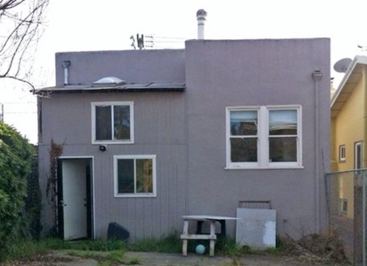 Spanish house before