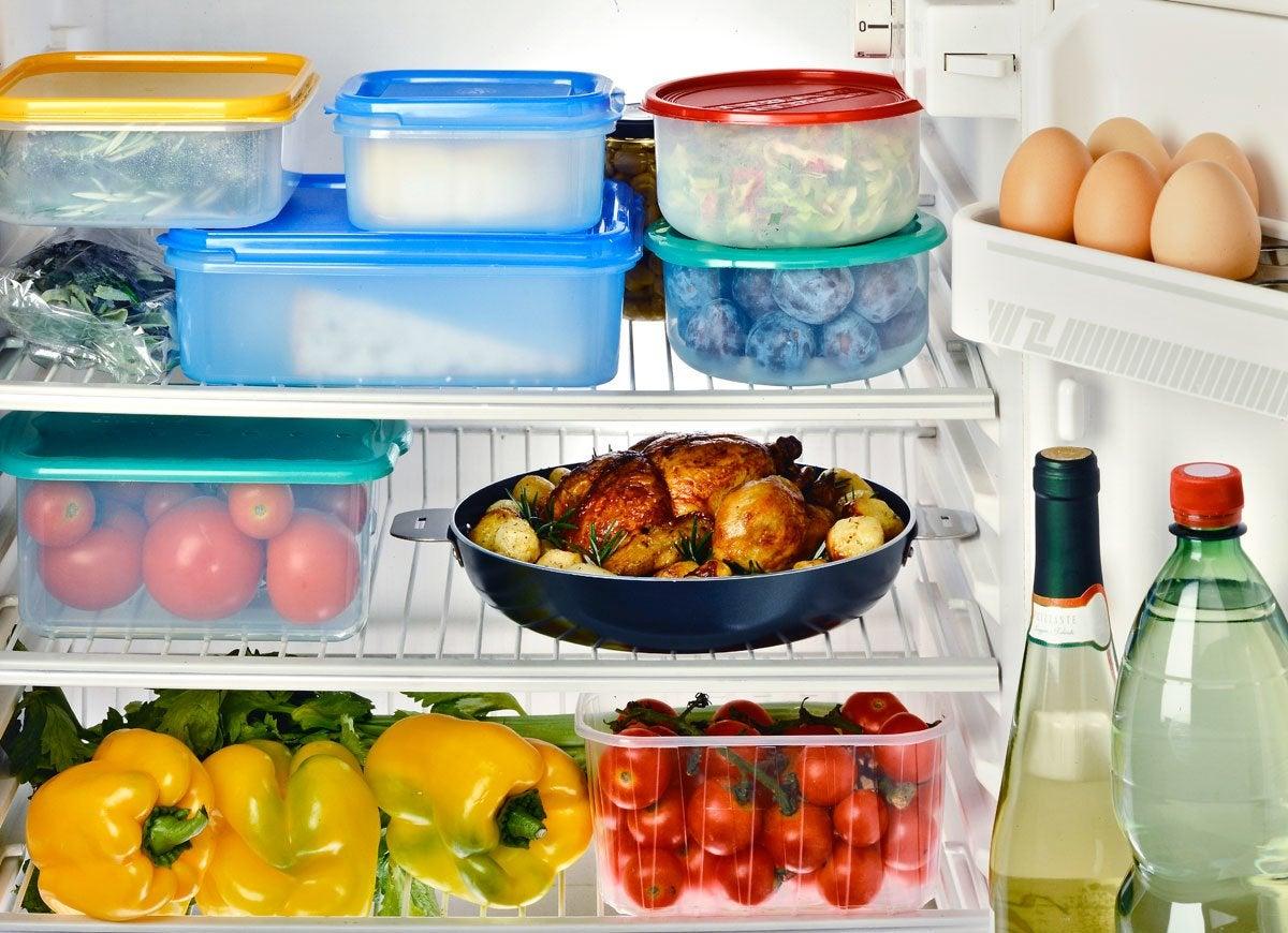 Interior fridge
