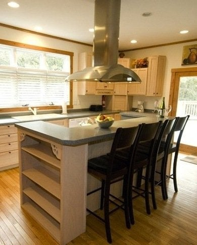 Kitchen Island With Stove And Seating simple kitchen island with cooktop and seating s in design decorating