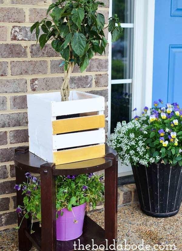 DIY Wood Planter Box