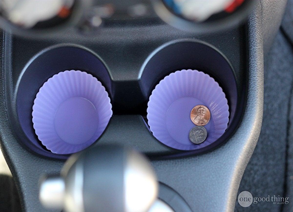Cupcake liners car