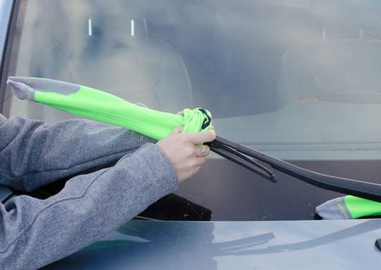 Put A Sock On Your Windshield Wipers In The Winter