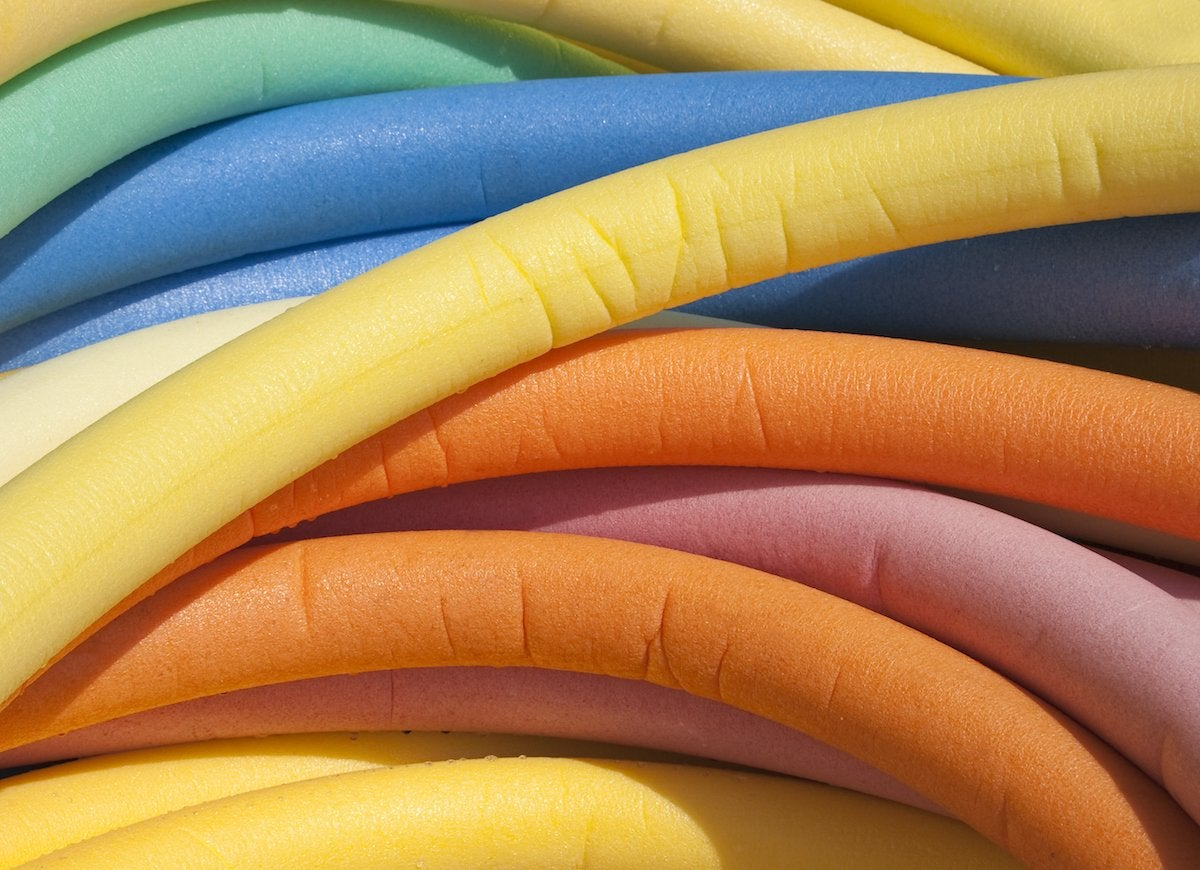 Pool noodles bumper