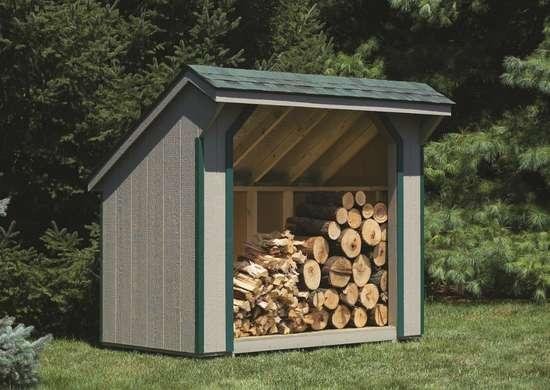 Foolproof Firewood Storage