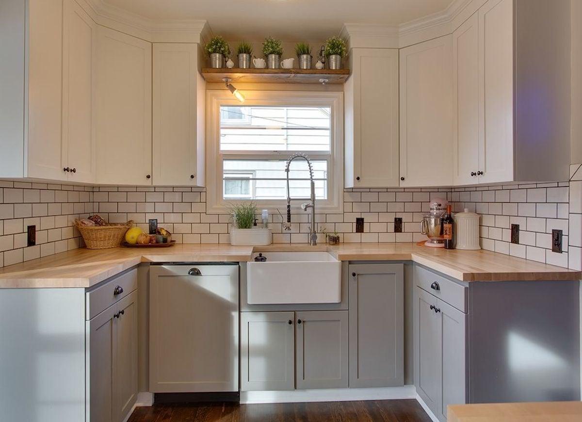 Farmhouse Kitchen Subway Tile Ideas