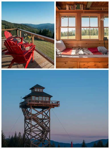 Lookout Tower Home