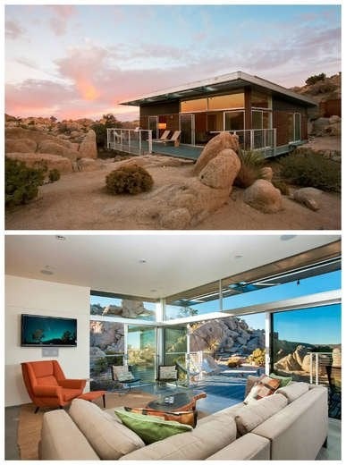 Secluded House in Desert