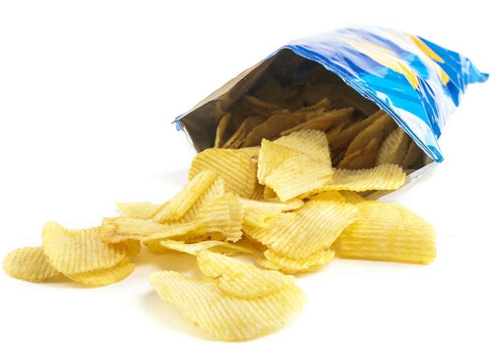 Seal chips bag