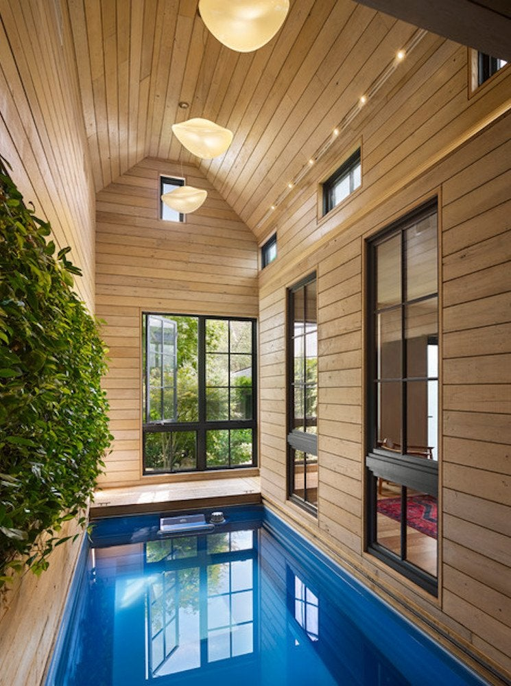 Indoor pool atrium
