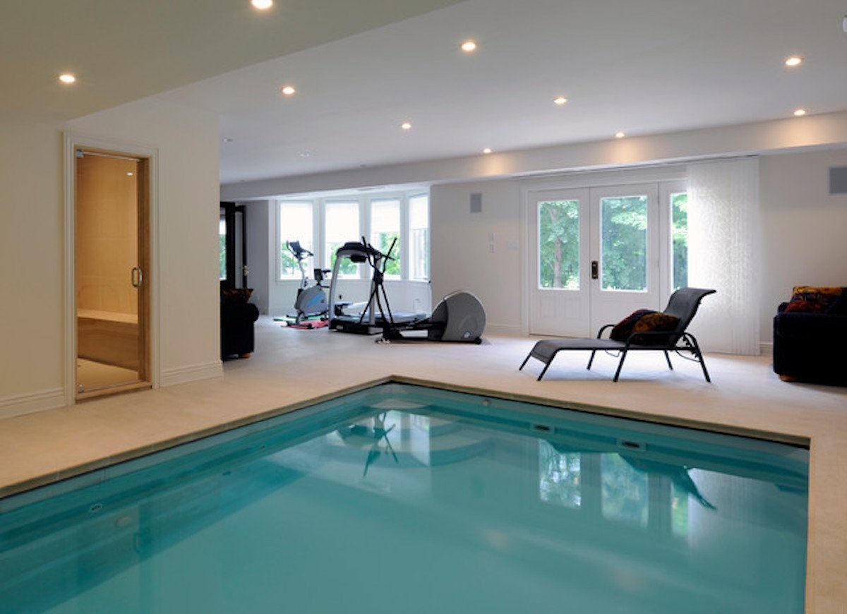 Exercise indoor pool