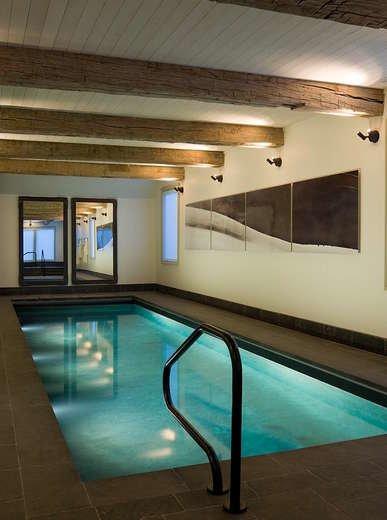 Saltwater indoor pool