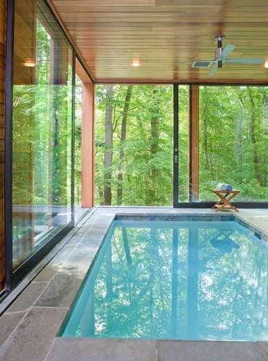 Tree house pool