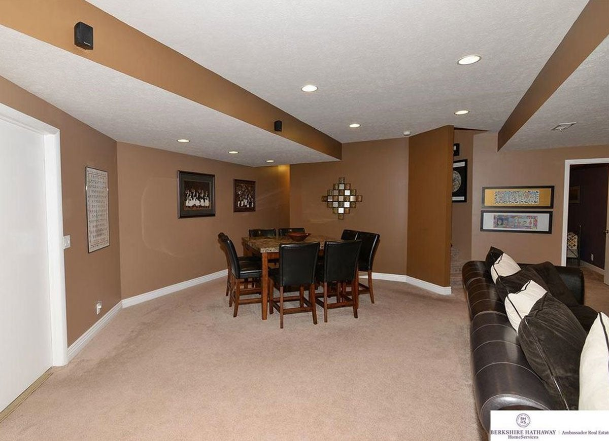 Brown basement