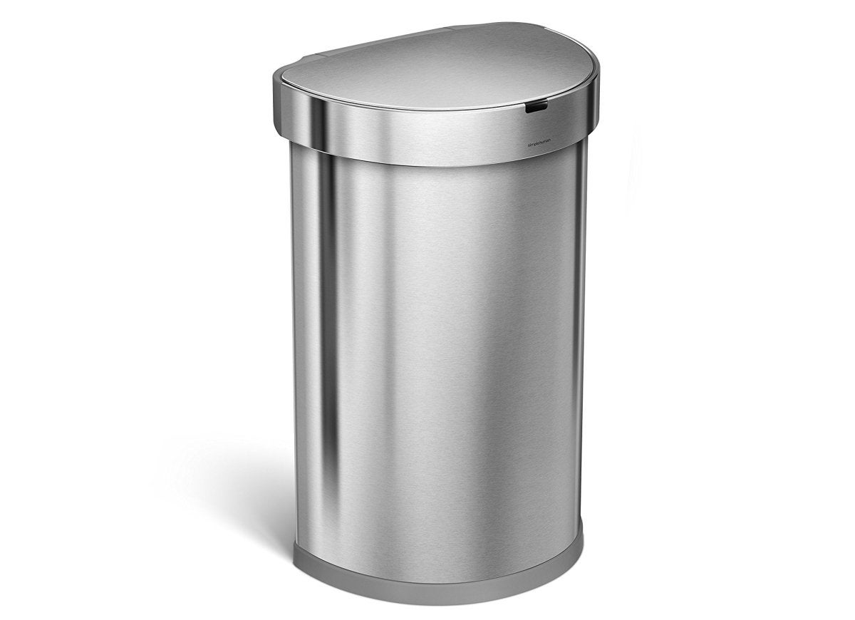 Automatic touchless garbage can