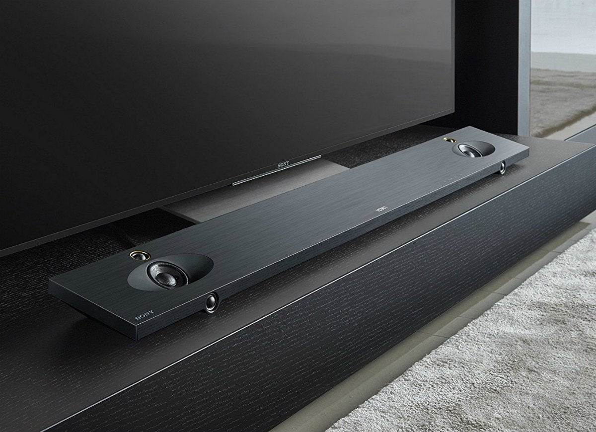 Sony htnt5 sound bar closeup