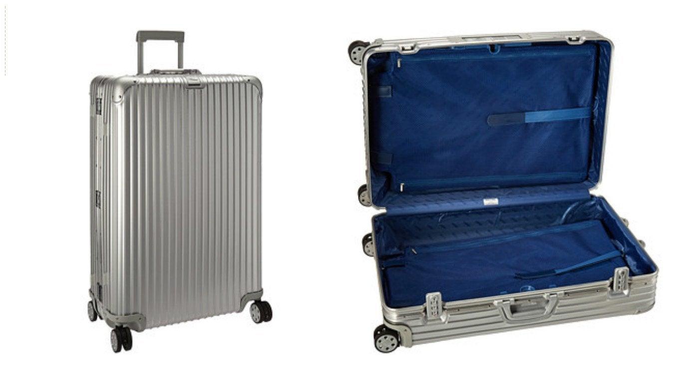 Rimowa smart suitcase
