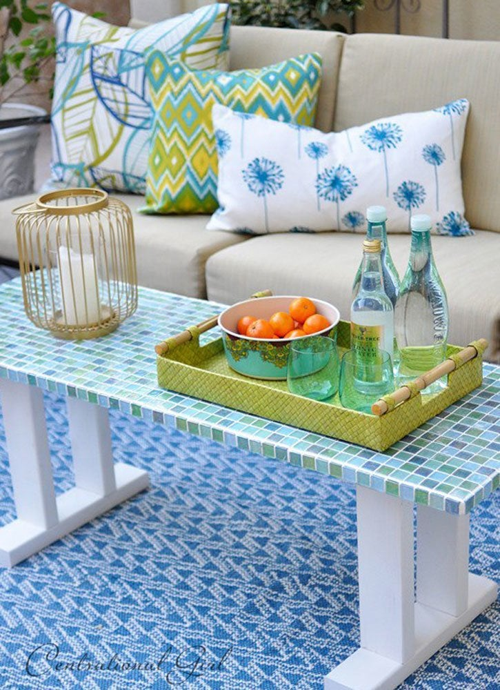 Diy tile table