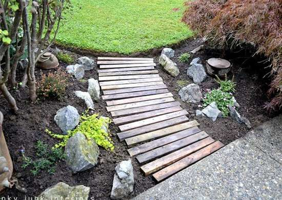 Cheap Landscaping Path