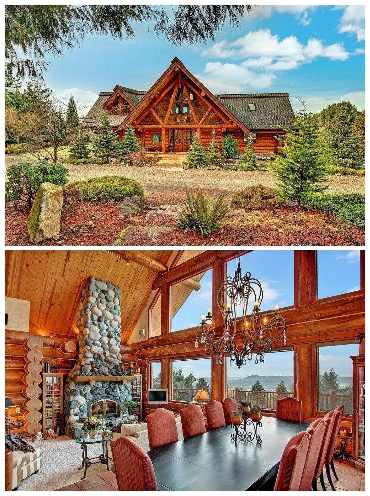 Swedish log cabin