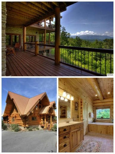 Log Cabin with a View