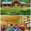 Ranch-Style Log Cabin