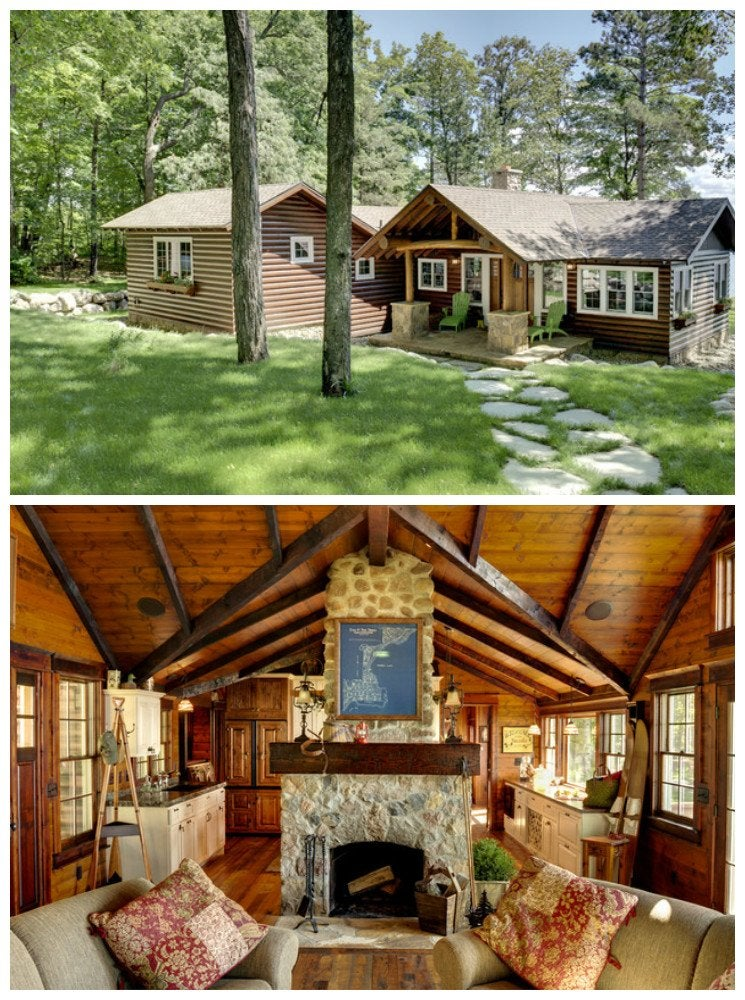 Luxury log cabin
