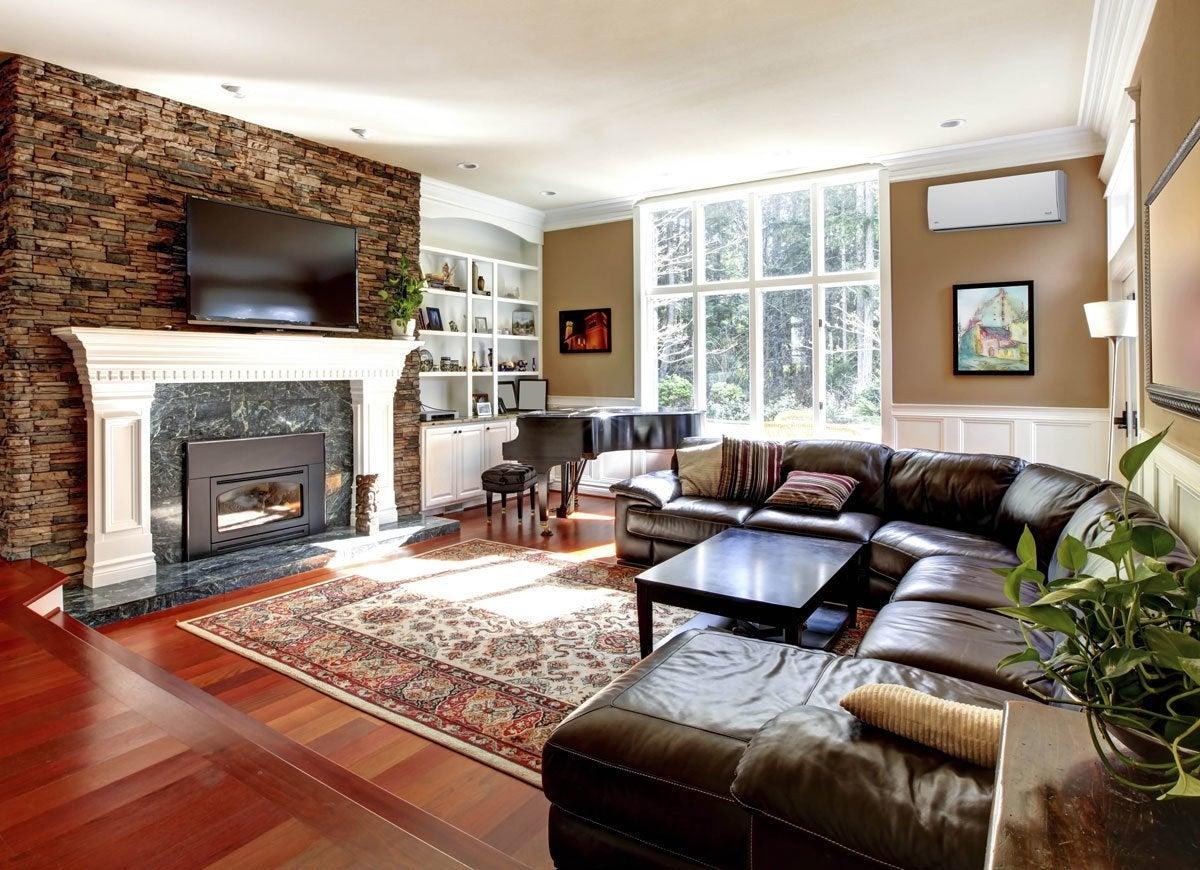Fujitsu living room