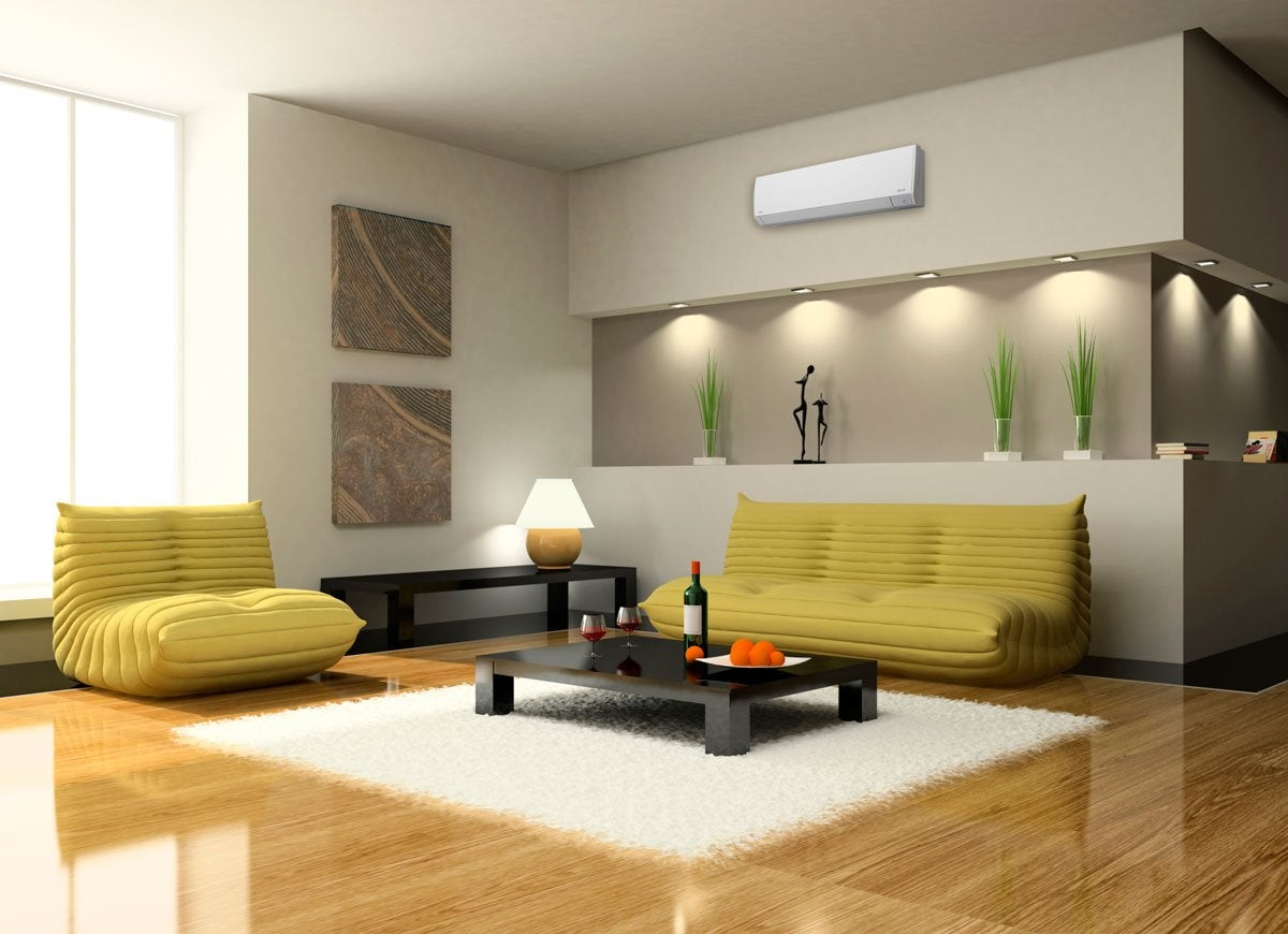 Living room wall ac