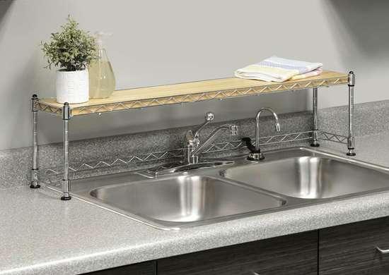 Over-Sink Shelf